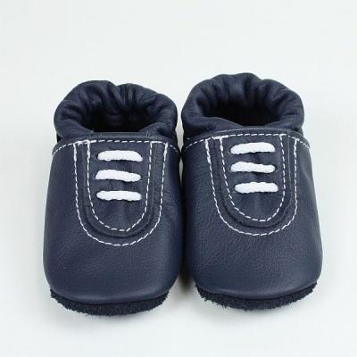 factory price a85ab 80e76 Krabbelschuhe Sneaker in blau-weiss
